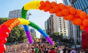 Parada de São Paulo na TV pela primeira vez