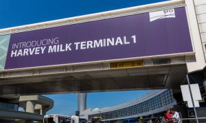 Aeroporto de San Franciso é o primeiro do mundo a ter terminal com nome de LGBT