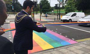 Londres ganha primeiro cruzamento rainbow