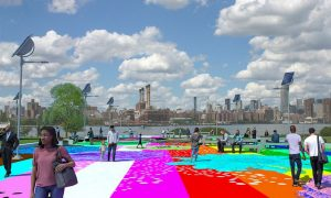 Marsha P. Johnson é homenageada com parque em Nova York