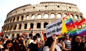 Religiosos tentam impedir lei para combater a LGBTfobia na Itália