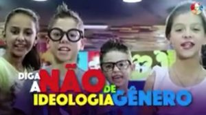 """(Vídeo) Perfil evangélico usa crianças para atacar a """"ideologia de gênero"""""""