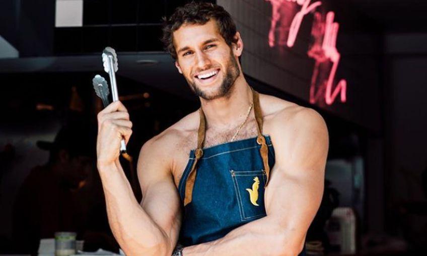 Chef mais sexy do mundo no Rio