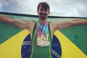 Gay Games:Jerry da Costa encerra participação com sete medalhas conquistadas