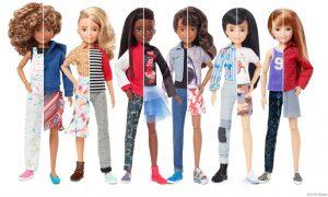 Barbie sem gênero! Mattel lança bonecxs que podem ser de qualquer gênero.
