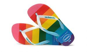 Além de linha Pride da Havaianas, marca será mais inclusiva
