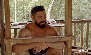 Curta Essa na Netflix: Com visual lenhador, Zac Efron estreia série de viagem e ecologia