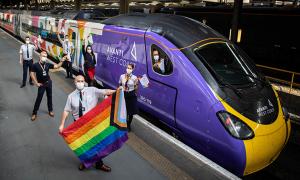 Lançado o primeiro trem LGBT no Reino Unido
