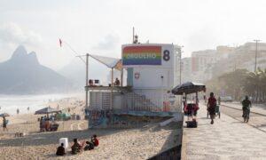 Rio ganha as cores do arco-íris para celebrar o Orgulho LGBT