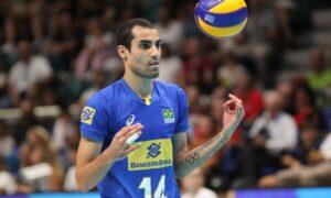Já temos nosso rei olímpico. Conheça Douglas Souza, jogador da seleção de vôlei.